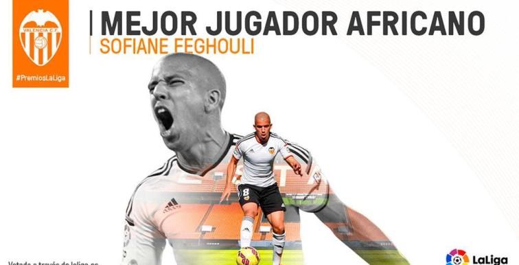 Liga : Feghouli désigné meilleur joueur africain !