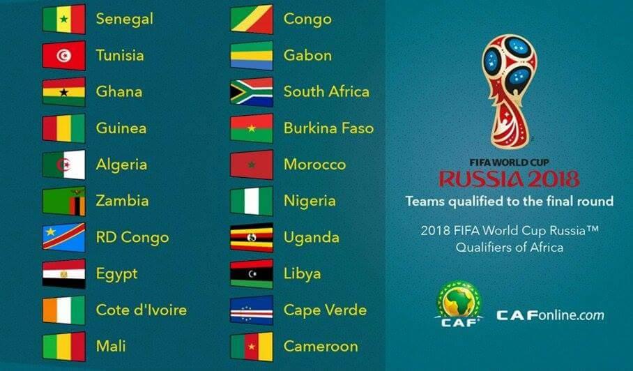 Les qualifiés africains