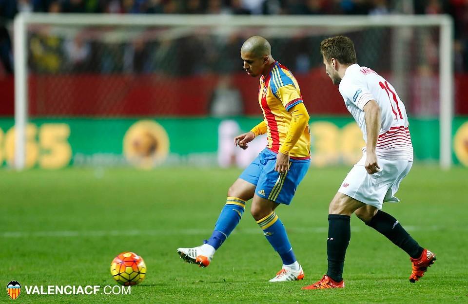 Feghouli face au FC Séville