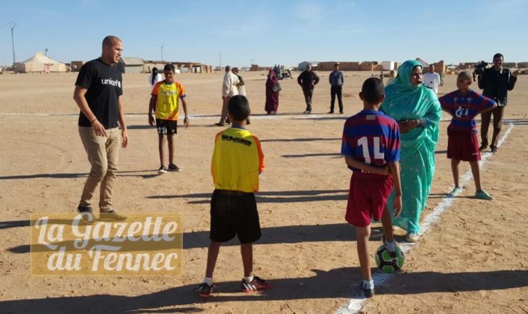 Bougherra à Tindouf avec les réfugiés sahraouis