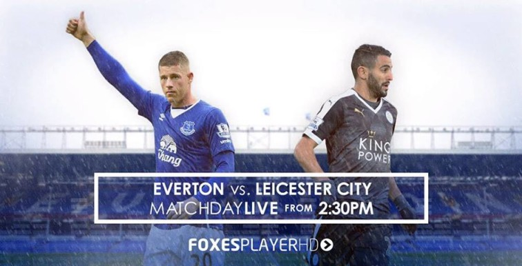 Everton – Leicester : Mahrez titulaire, Bentaleb remplaçant !