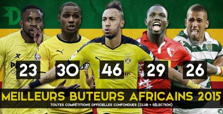 Slimani dans le top 5 des meilleurs attaquants africains !
