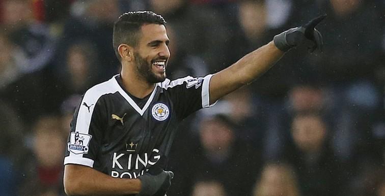 Leicester: Mahrez, 3eme joueur à marquer un triplé