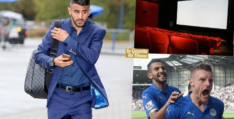 Ryad Mahrez bientôt dans un film au cinéma ?