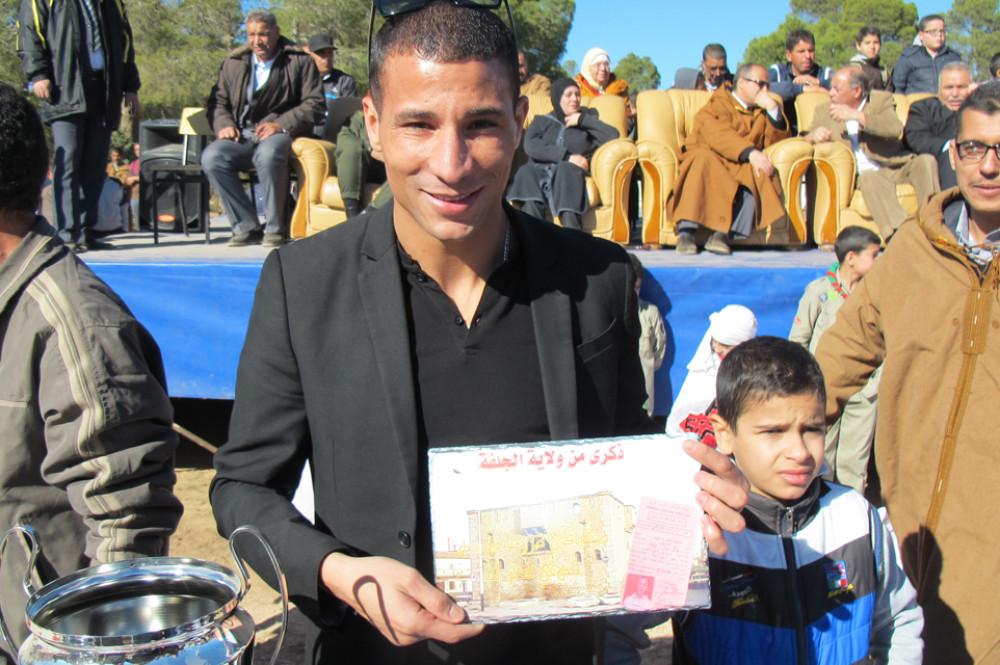 ?Makhloufi a enflammé le cross de Djelfa
