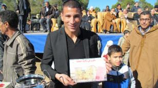 Makhloufi a enflammé le cross de Djelfa