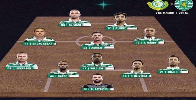 Setubal – Sporting : Slimani Titulaire
