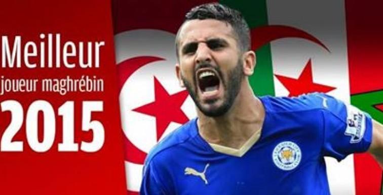 Mahrez élu meilleur joueur maghrébin de l'année 2015 !