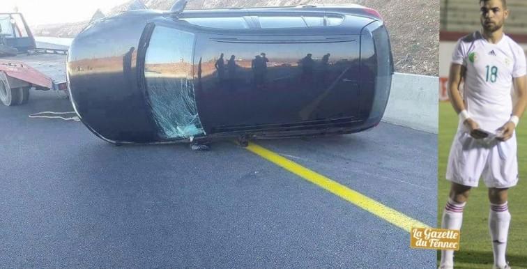 ESS: Amokrane victime d'un accident de la route