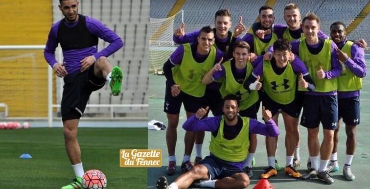 Tottenham : Bentaleb en stage à Barcelone