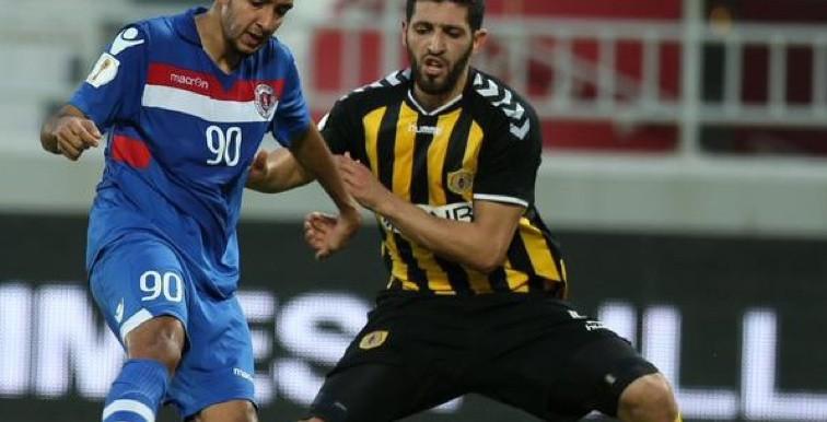 Qatar SC : Rafik Halliche touché à la cuisse !