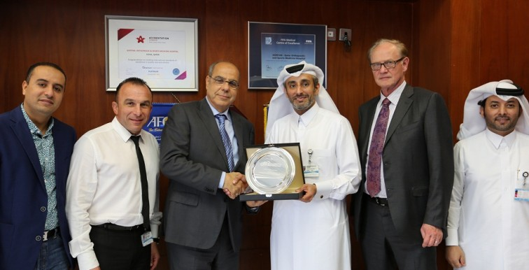 Raouraoua en visite à Aspetar à Doha