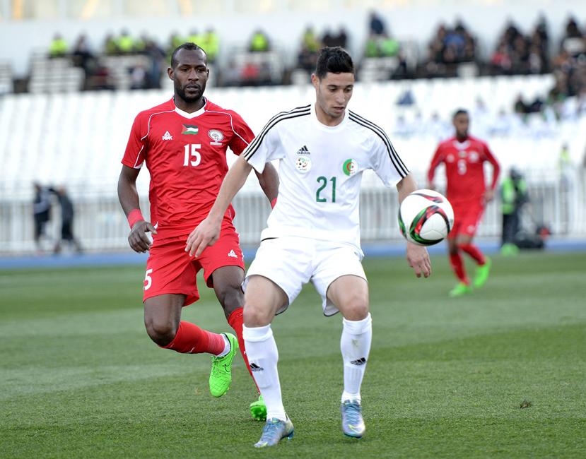 Algérie U23 - Palestine (0-1) - Benkablia Mohamed