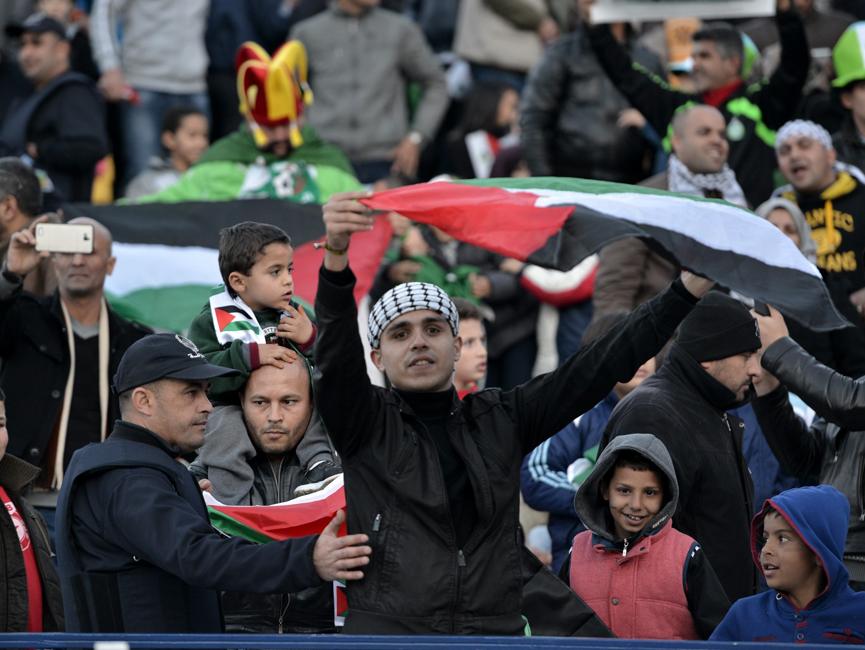 Algérie U23 - Palestine (0-1) - supporter