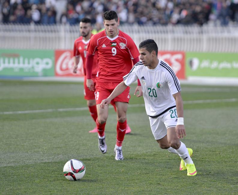 Algérie U23 - Palestine (0-1) - joueur algérien CRB