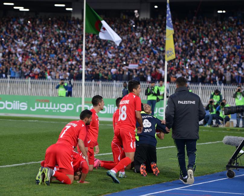 Algérie U23 - Palestine (0-1) - but palestienien