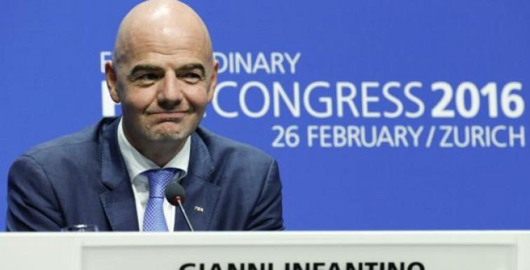 Gianni Infantino nouveau président de la FIFA !