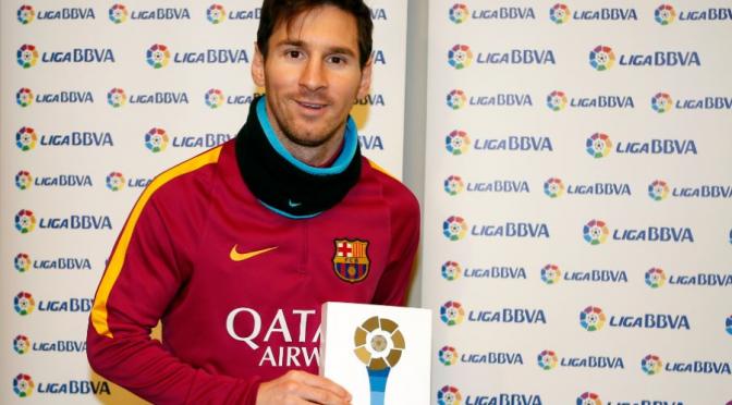 Espagne : Messi élu joueur du mois pour la première fois !