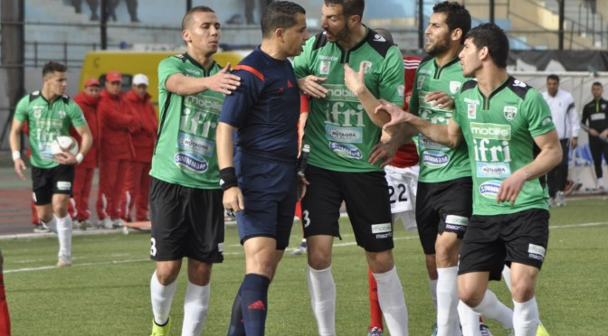 Finale Coupe d'Algérie 2016 : Benouza au sifflet