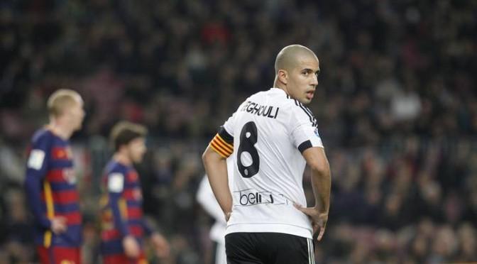 FC Valence : Une porte anglaise pour Feghouli ?