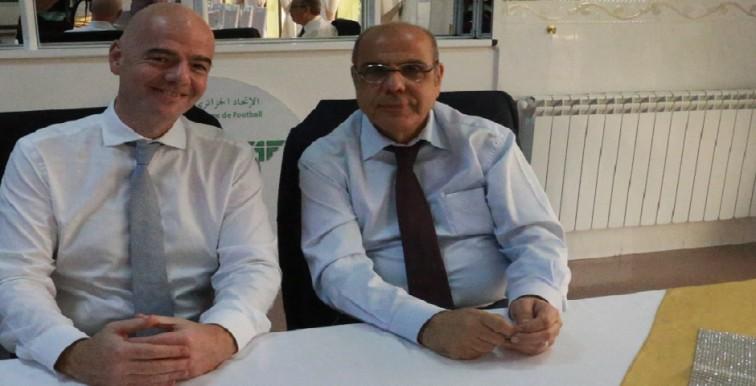 Gianni Infantino futur président de la FIFA selon Derradji !