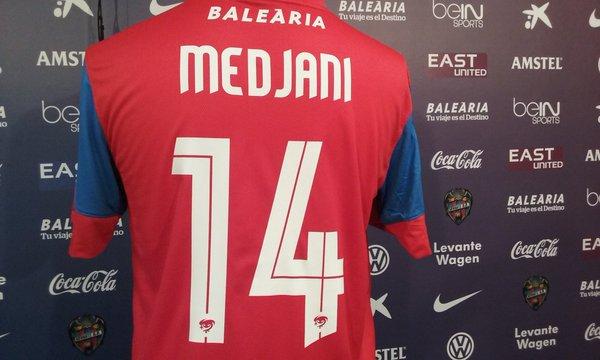 maillot Medjani dossard 14