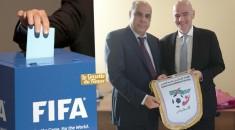 Présidence FIFA : Raouraoua va-t-il désavouer Hayatou ?