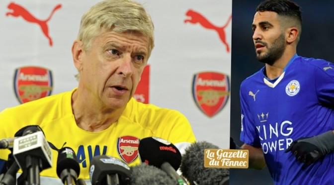 Mercato : Arsène Wenger ne s'intéresserait plus à Mahrez !