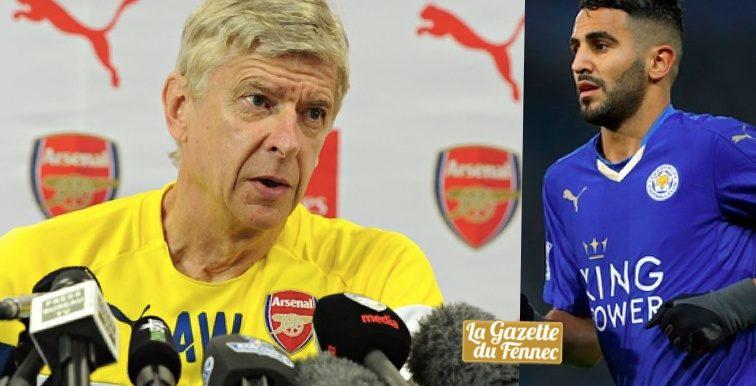 """Wenger : """"Nous n'avons jamais été proches d'engager Mahrez"""""""