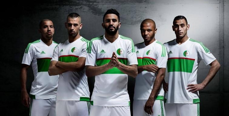 Le maillot de l'Algérie dévoilé