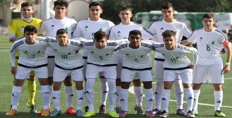 Amical U17 : L'Algérie s'impose 2-1 face à l'Egypte.