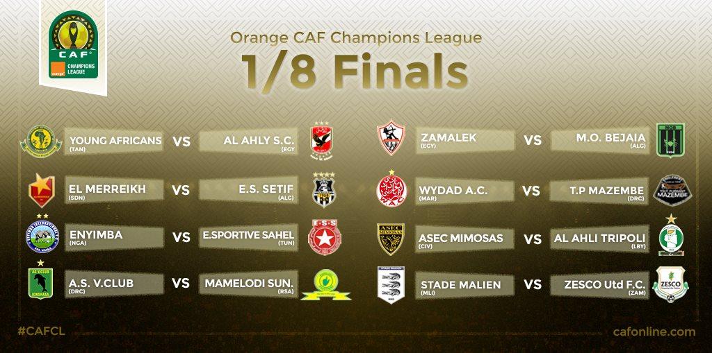 1/8 finale CAF LDC
