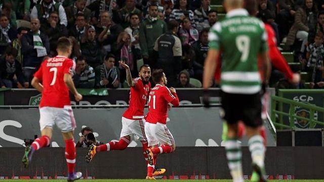 Benfica bat le Sporting d eSlimani 1-0
