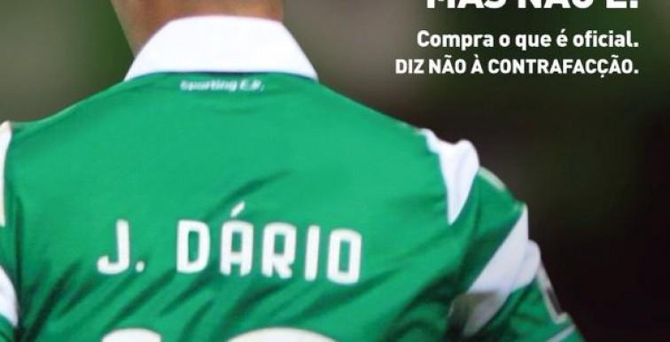 L'initiative surprenante du Sporting CP pour lutter contre la contrefaçon