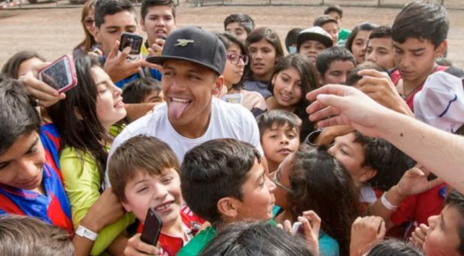 Le geste exceptionnel d'Alexis Sanchez aux enfants du Chili