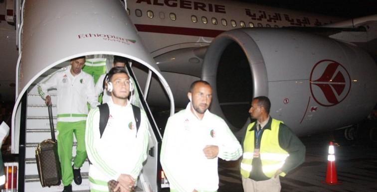 EN : les Verts sont bien arrivés en Ethiopie