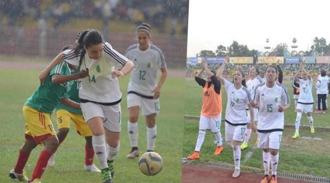 Féminine – Ethiopie-Algérie (1-1) : l'Algérie arrache sa qualification à Addis Abeba !
