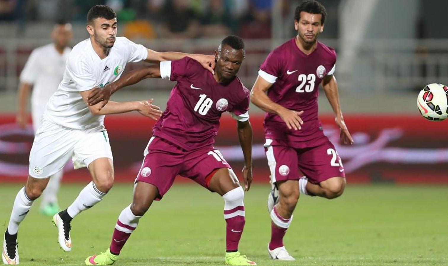 ghezzal rachid contre le Qatar