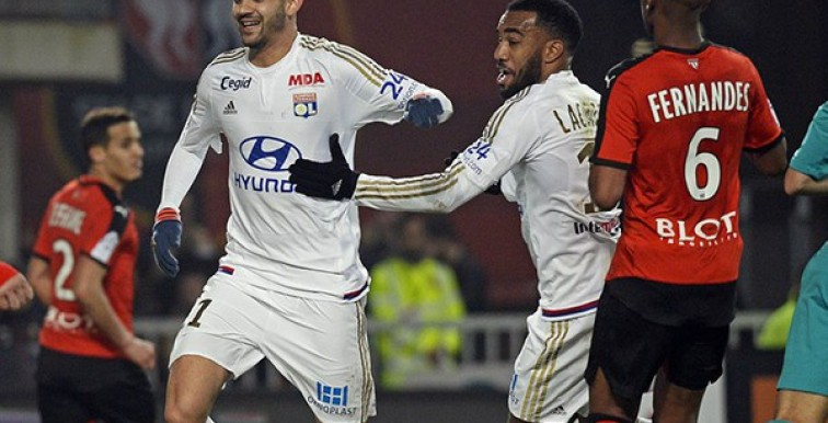 (VIDEO) : Ghezzal buteur face à Rennes