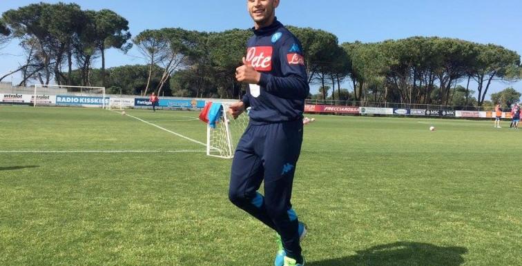 Naples : Ghoulam déjà de retour aux entrainements !