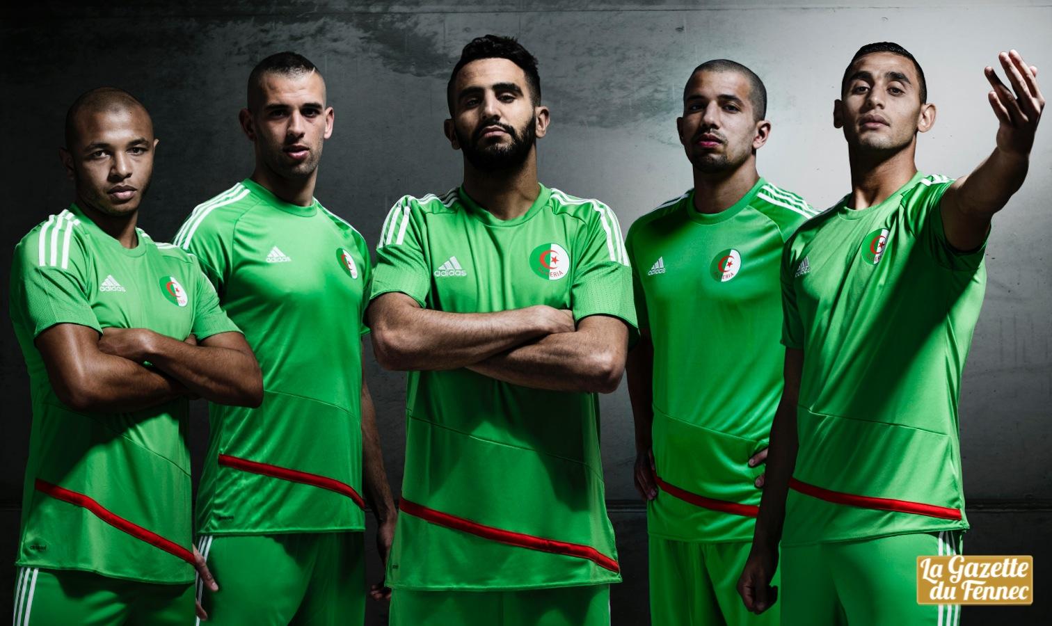 maillot EN vert