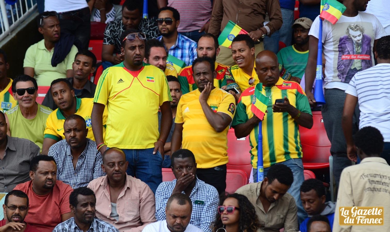 supporters ethiopie addis abeba