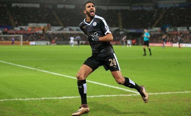 Premier League : Mahrez dans l'équipe type de la saison !