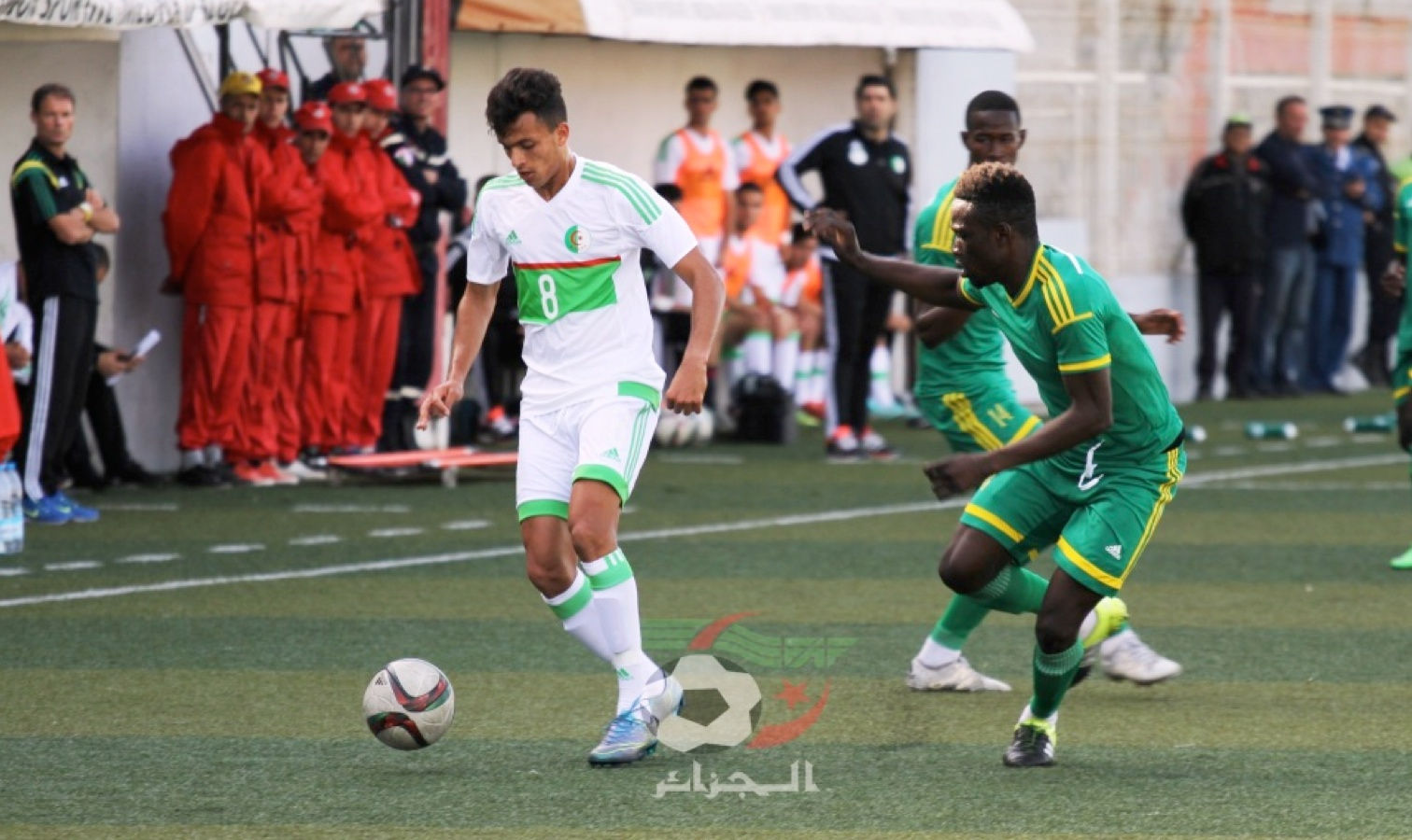 U20 action bologhine contre mauritanie
