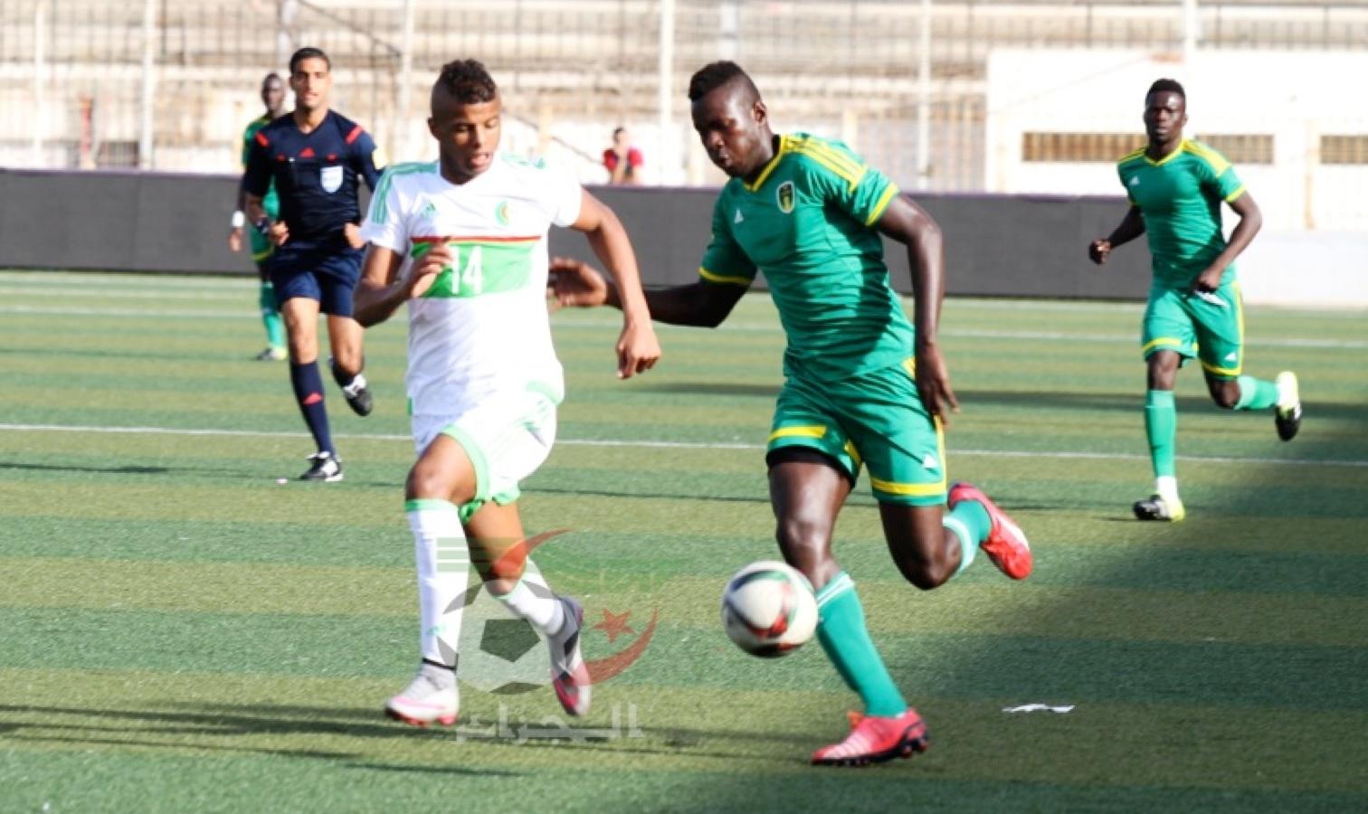 U20 duel bologhine contre mauritanie