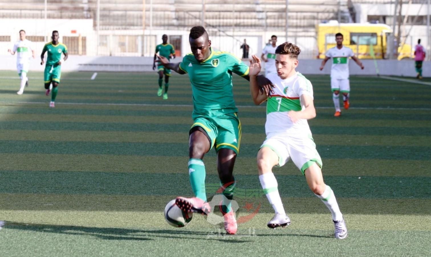 U20 el amali bologhine contre mauritanie