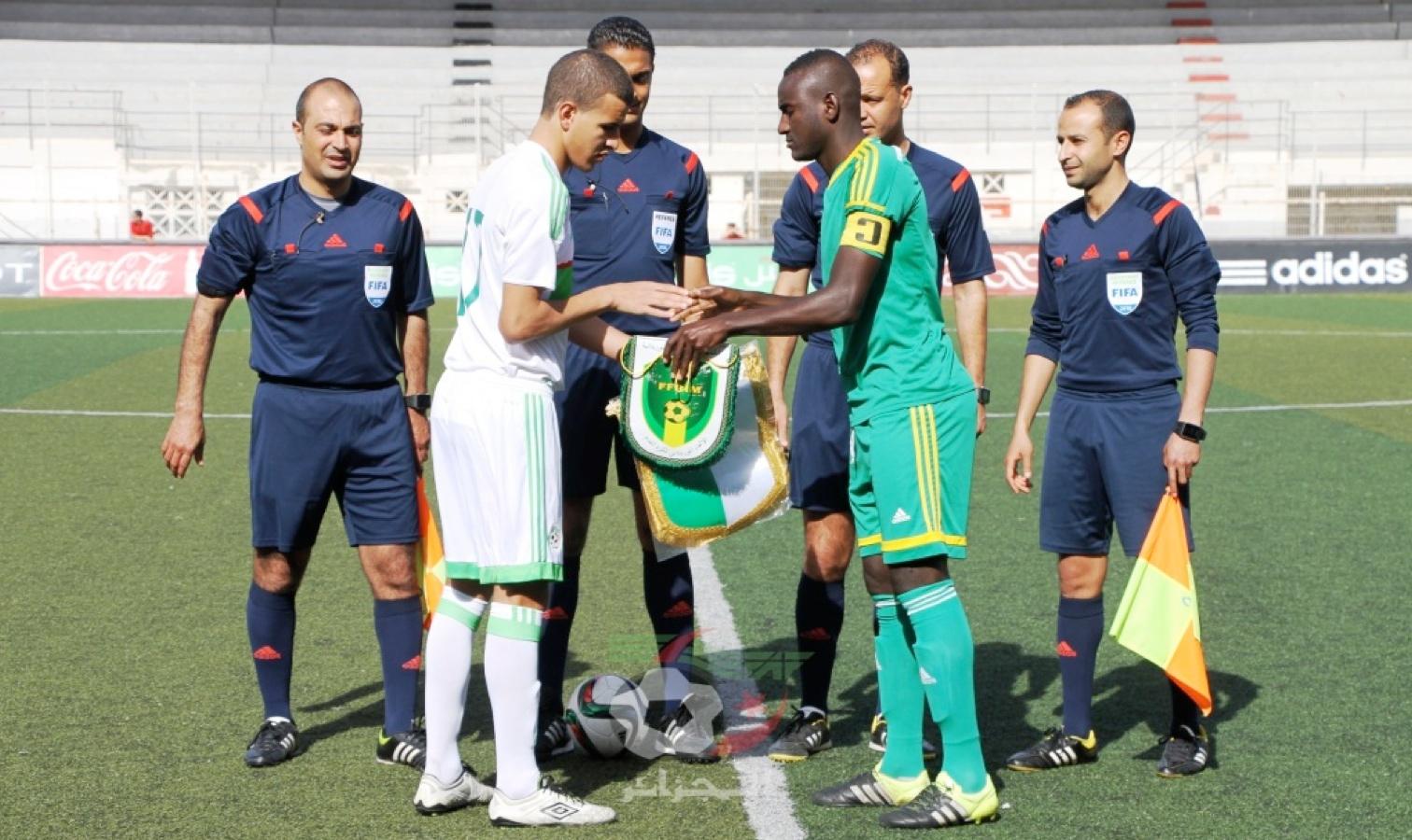 U20 match bologhine contre mauritanie