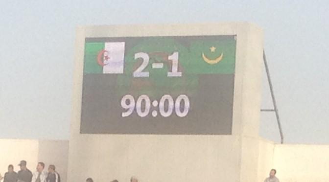 U20, Qualifications CAN 2017 : Algérie 2-1 Mauritanie
