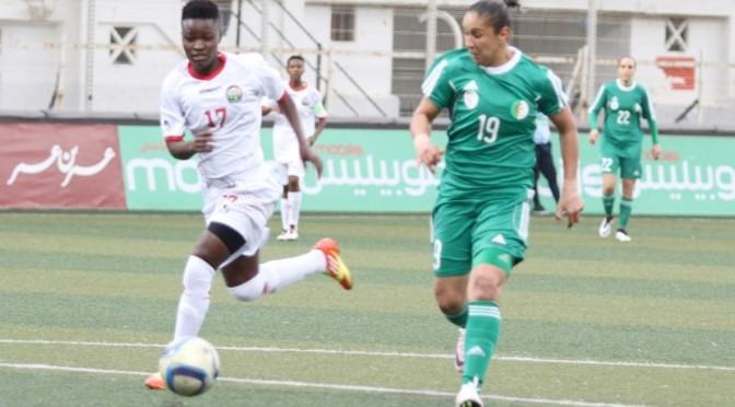 CAN 2016 dames – 2e tour aller : Algérie – Kenya (2-2)