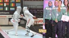 16es championnats d'Afrique d'escrime : L'Algérie termine 4ème !